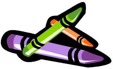 colouring clip art
