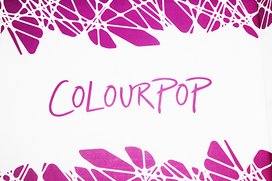 Colourpop Logos.