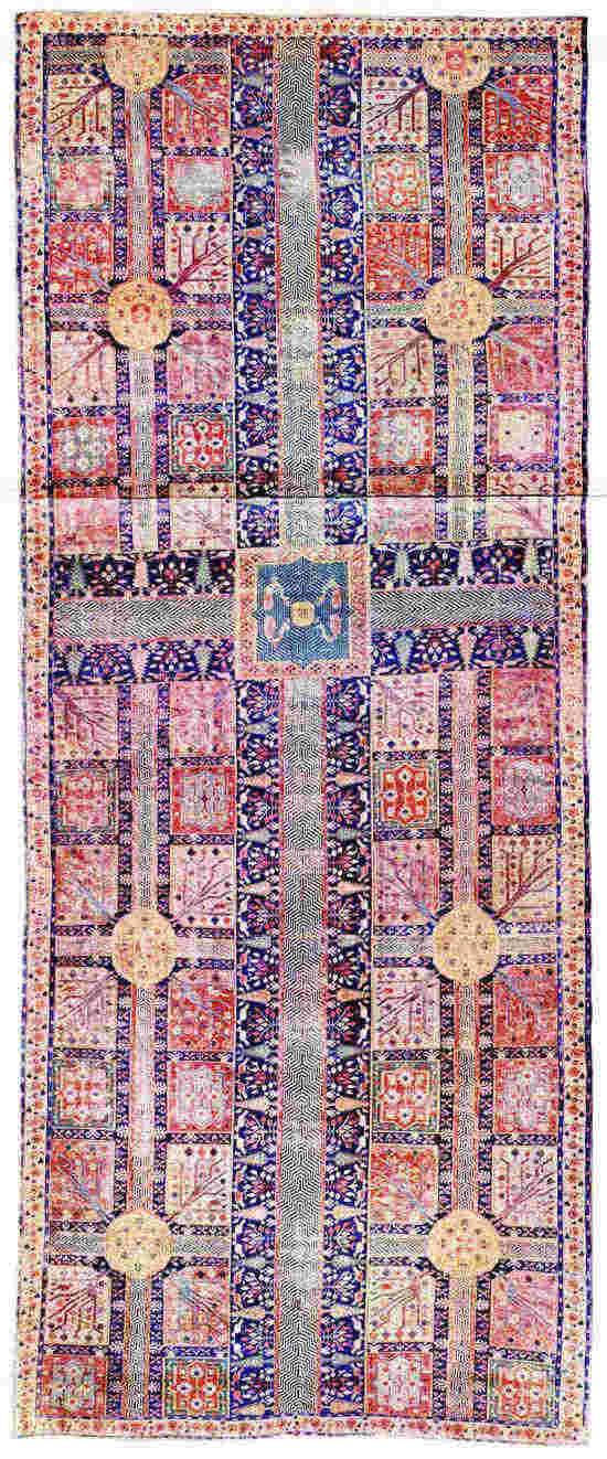 The Project Gutenberg eBook of Oriental Carpets, by Walter A. Hawley..