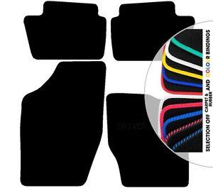 Car Mats Citroen C4 Not Picasso Black Fully Tailored Rubber Carpet.