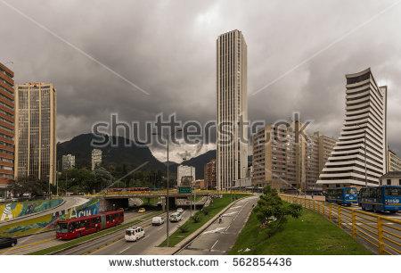 Building Of Bogota Stock Photos, Royalty.