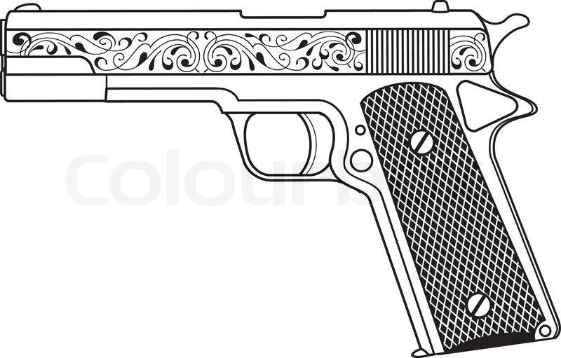 Colt pistol 1911.
