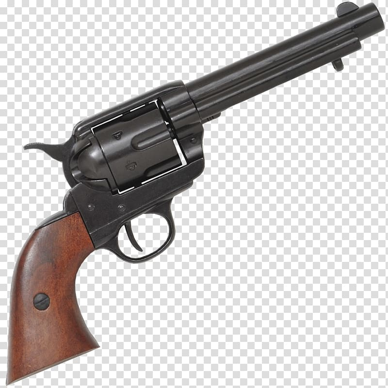 Black revolver, Colt Single Action Army .45 Colt Revolver.