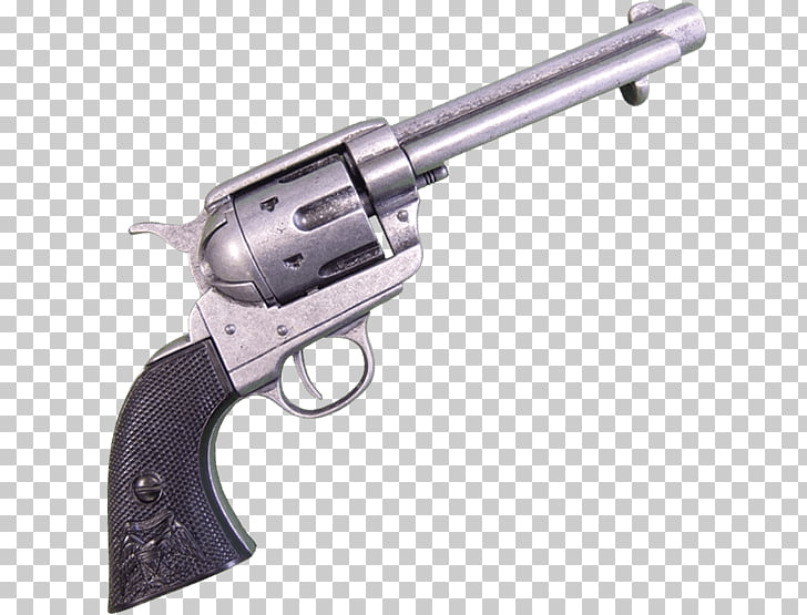 Revolver Firearm Trigger Colt Single Action Army .45 Colt.