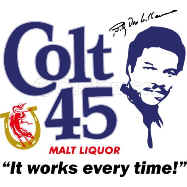 Colt 45 Works Every Time! Travel Mug.