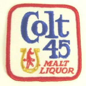 Details about Colt 45 Malt Liquor Beer Patch Brand New!.