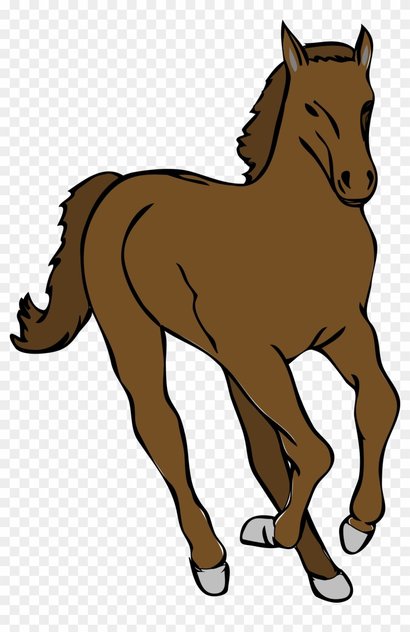 For Clipart Of Running 42 427379 Foal Colt Horse.