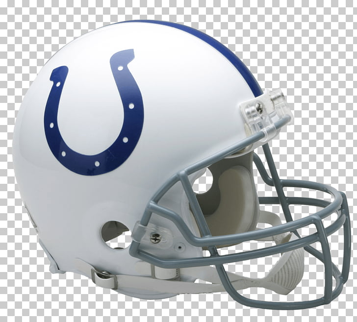 Indianapolis Colts Helmet, white and blue football helmet.
