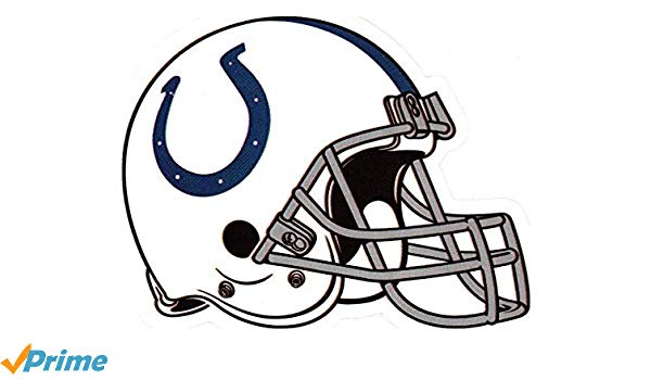 4 Indianapolis Colts Die Cut Stickers NFL Football Logo Sticker Team Helmet  Set Indy Horse Shoe.