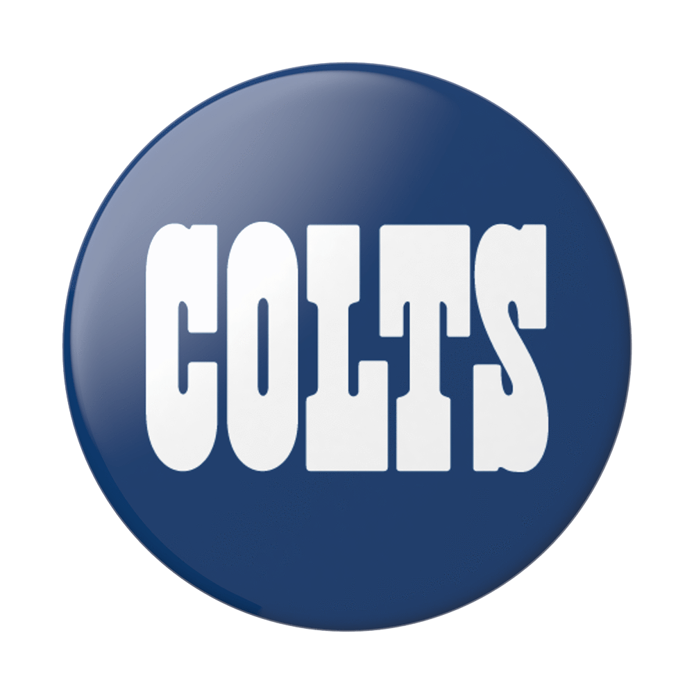 Indianapolis Colts Logo PopSockets PopGrip.