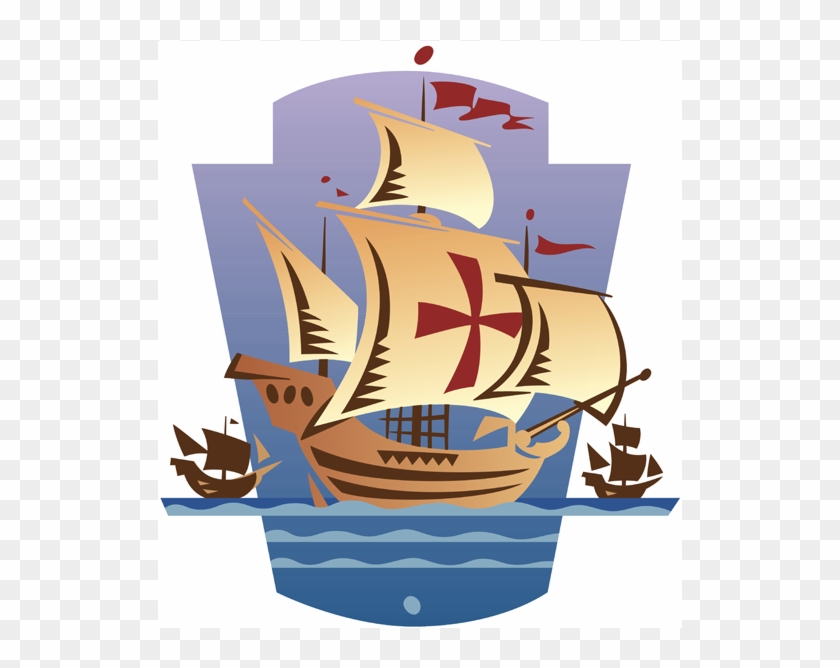 Columbus Day Png Clipart.
