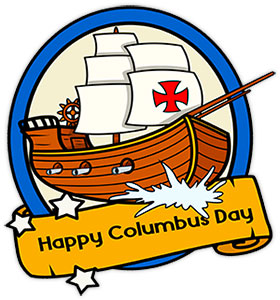 Free Columbus Day Clipart.