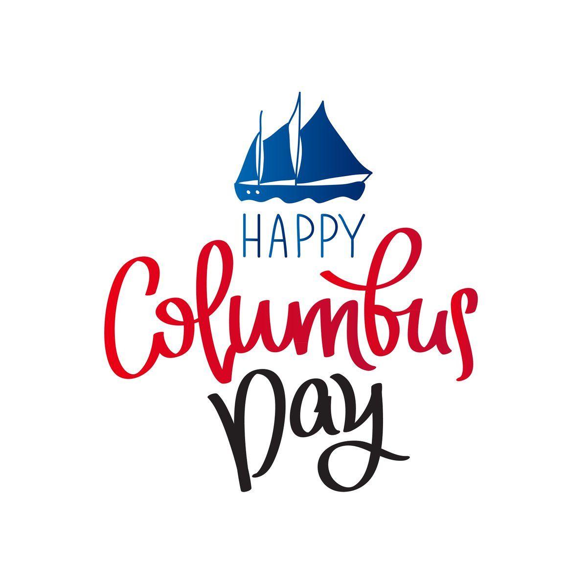 Columbus Day Sign Design Corral