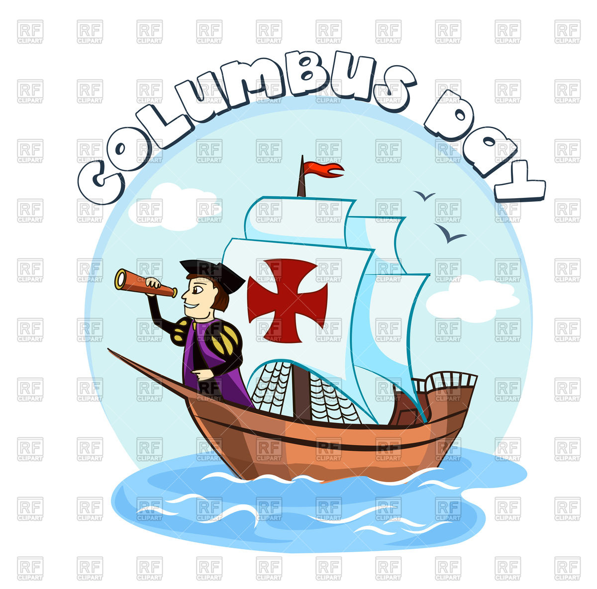 Free Clipart Columbus Day 2017.