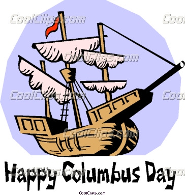 Showing post & media for Cartoon columbus day clip art.