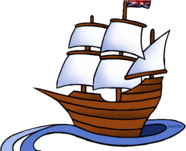 Christopher Columbus Ship Clipart , Transparent Cartoon.