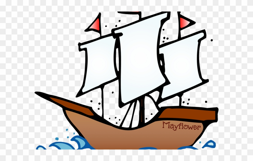 Sailing Ship Clipart Flower.