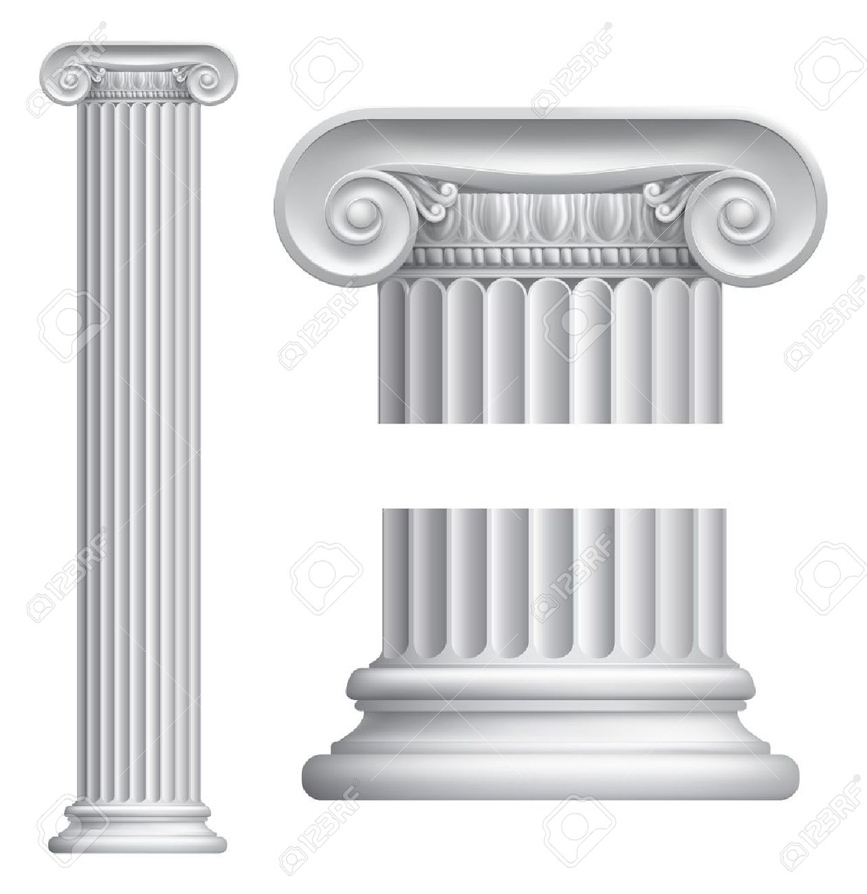4,960 Roman Column Cliparts, Stock Vector And Royalty Free Roman.