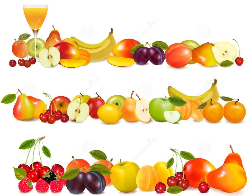 Fruit column clipart #7