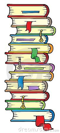 Schoolbook Stock Illustrations.