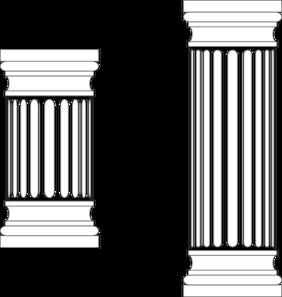 Columns Clip Art.