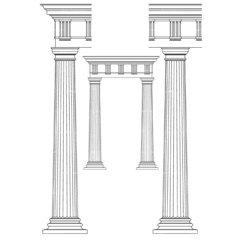columns clipart clipground