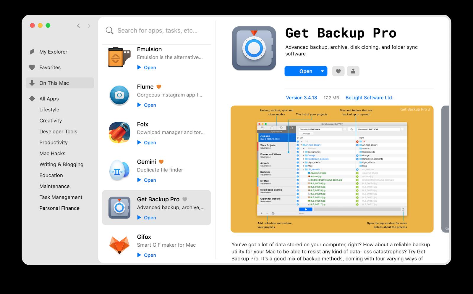 Clean install macOS 10.15 Catalina on Mac.