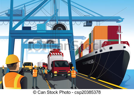 Port Illustrations and Clip Art. 16,595 Port royalty free.