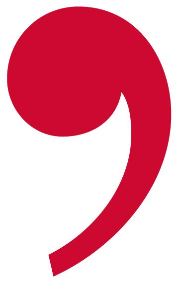 Comma Clipart.