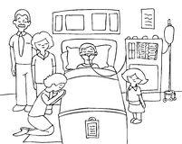 Coma Stock Illustrations.