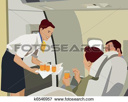 Flight attendant Illustrations and Clip Art. 208 flight attendant.