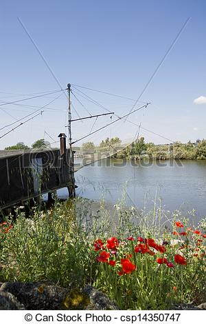 Stock Photo of Valleys of Comacchio in spring csp14350747.