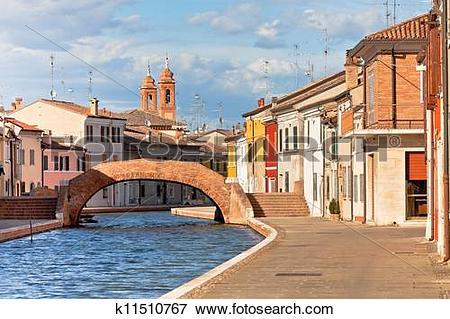 Picture of Comacchio, Italy.
