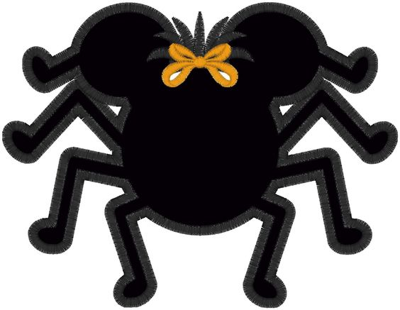 Halloween Minnie Mouse Spider Disney Personalized.