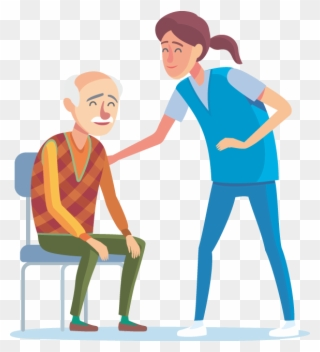Recognize And Avoid Caregiver Burnout And Compassion Clipart.