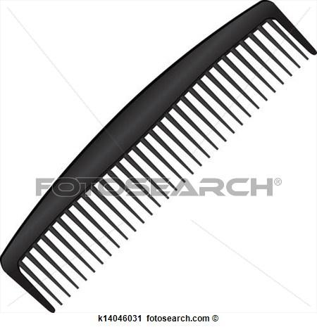 Clipart Of A Comb.