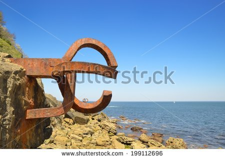 Chillida Stock Photos, Royalty.