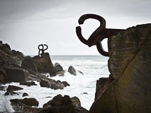 Comb Of The Wind (Peine Del Viento, Chillida). Royalty Free Stock.