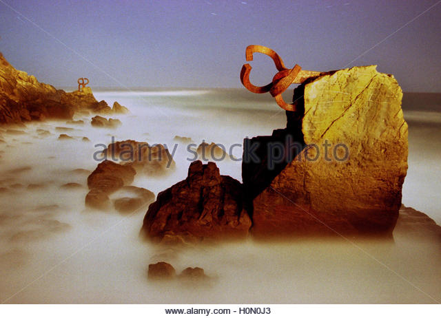 Abstract Eduardo Chillida Stock Photos & Abstract Eduardo Chillida.
