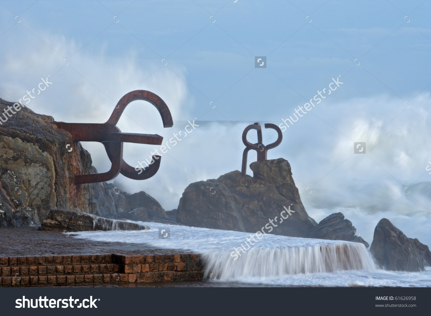 Comb Of The Wind (Chillida) In Donostia.