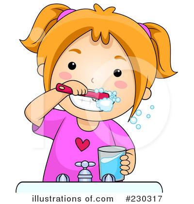 Brush Your Teeth Clip Art.
