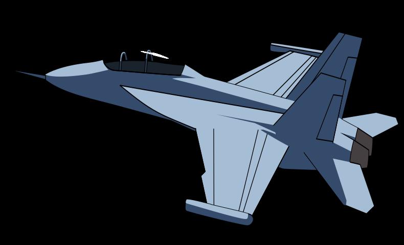 Jet aircraft clipart #14