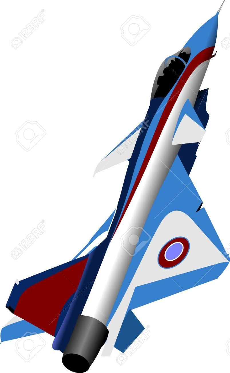 Vector Combat Aircraft Royalty Free Cliparts, Vectors, And Stock.