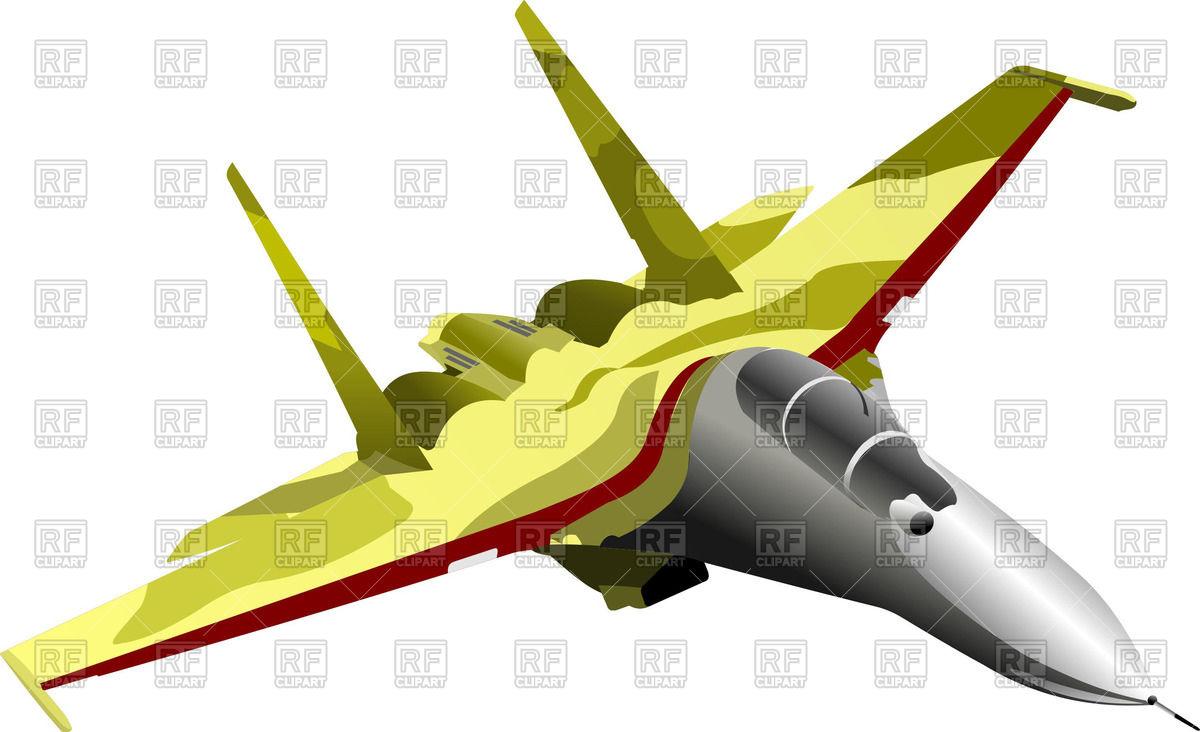 Modern combat aircraft.