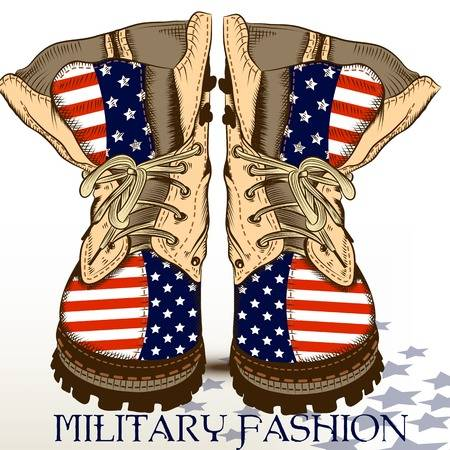 3,445 Military Boots Cliparts, Stock Vector And Royalty Free.