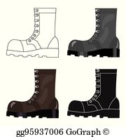 Boots Army Clip Art.