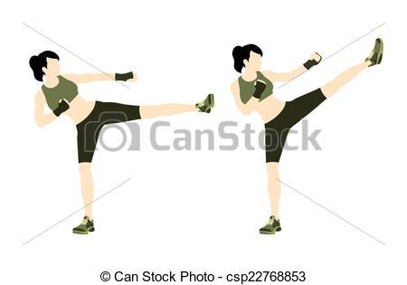Body combat clipart.