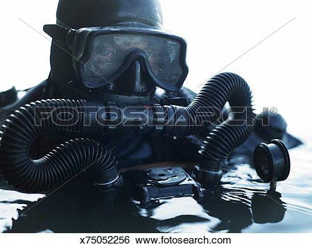 Stock Images of Combat Diver x75052256.