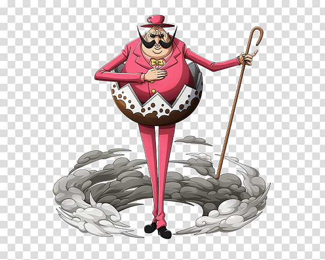 Bobbin Bishop Combatant of Big Mom Pirates transparent.