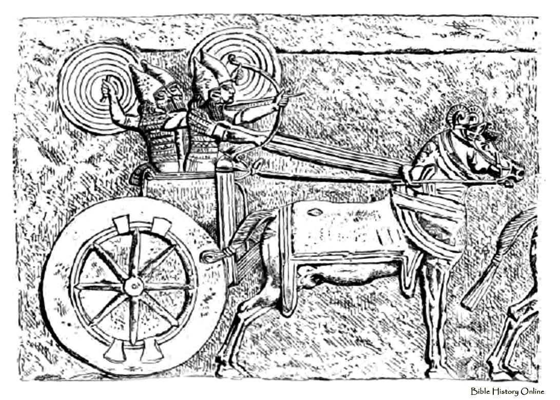 Chariots for Three Combatants.